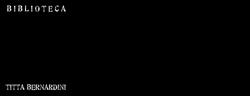 Logo Biblioteca Titta Bernanrdini - Campofilone (FM)